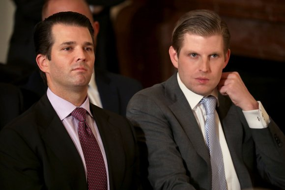 Now second son Eric Trump is accused of stealing from a cancer charity and dodging taxes