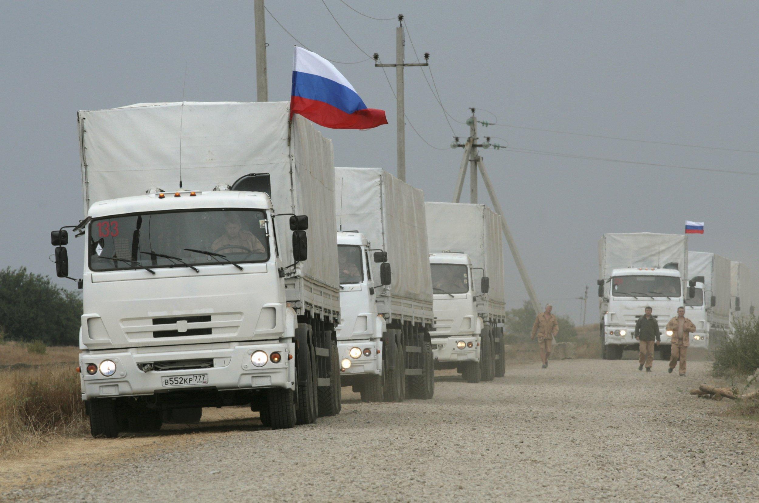 Ukraine convoy