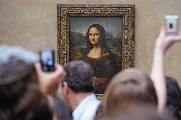 Identifying Real-life Mona Lisa