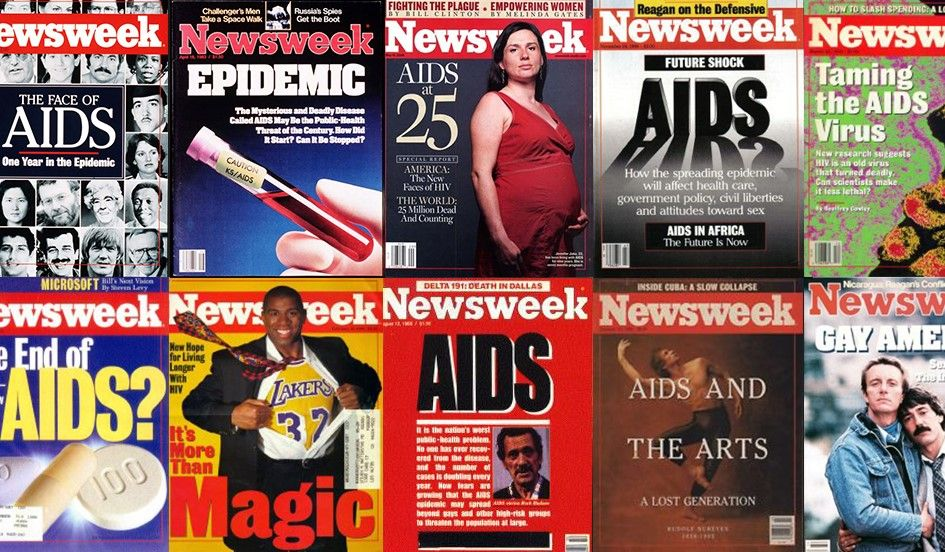 Newsweek Rewind 30 Years Ago Scientists Discovered the Cause of AIDS