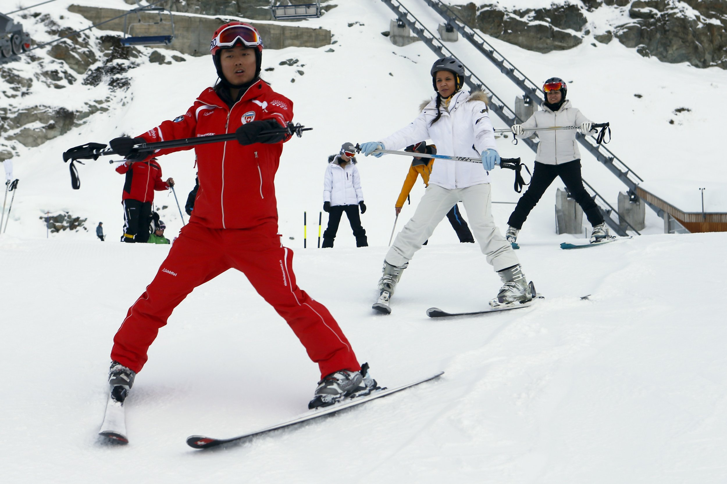 The SwissChinese Ski School for a New Set of Tourists