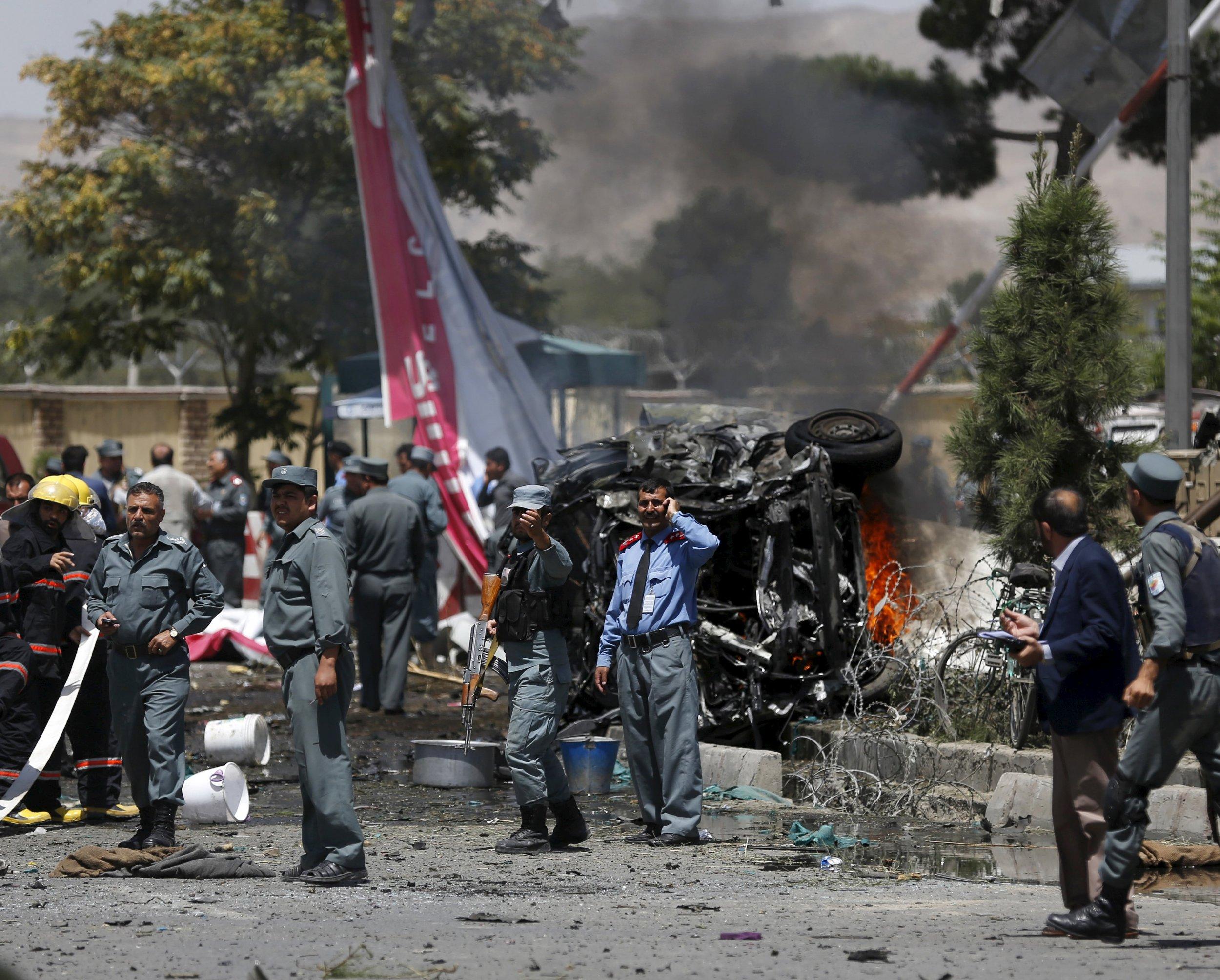 Taliban Car Bomb Near Kabul Airport Kills Five Afghan