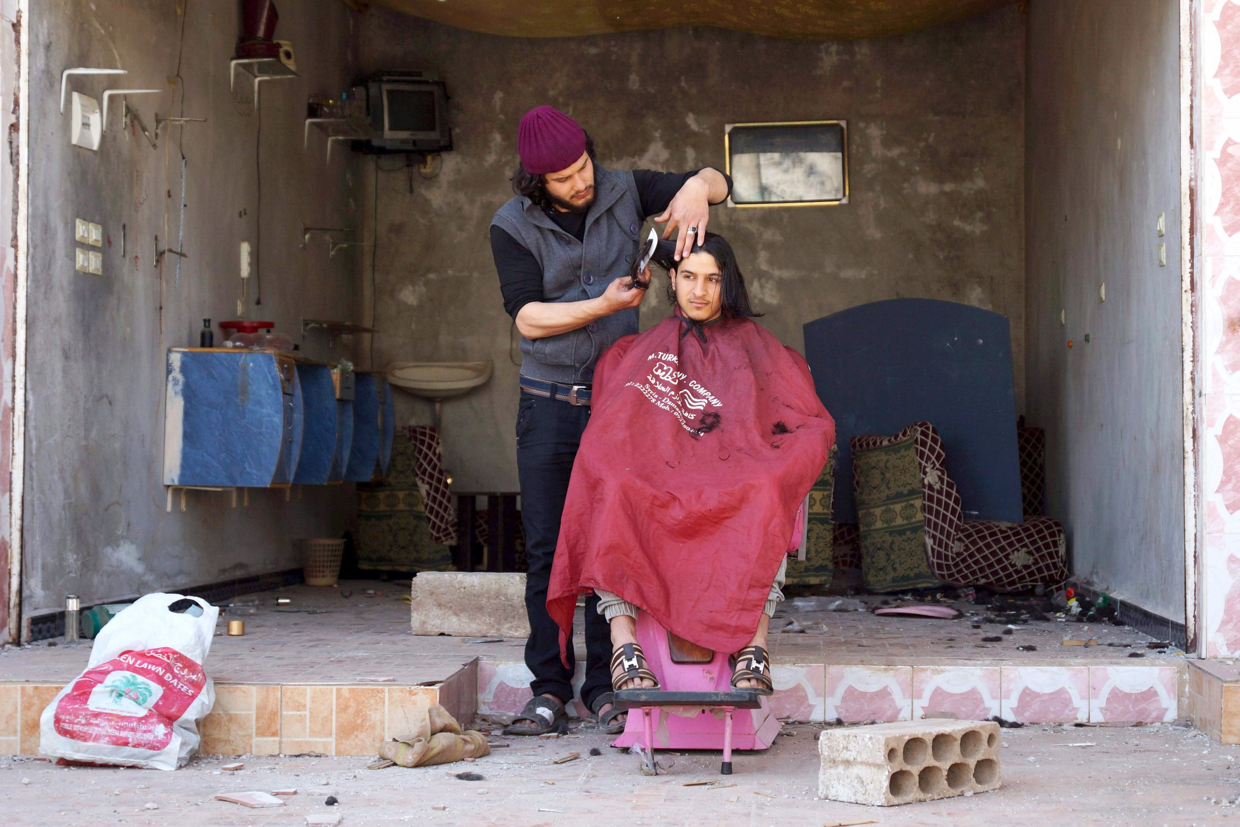 Life Under ISIS Eighty Lashes For Cutting His Cousins Hair