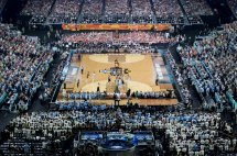 Ncaa Basketball In Football Stadiums