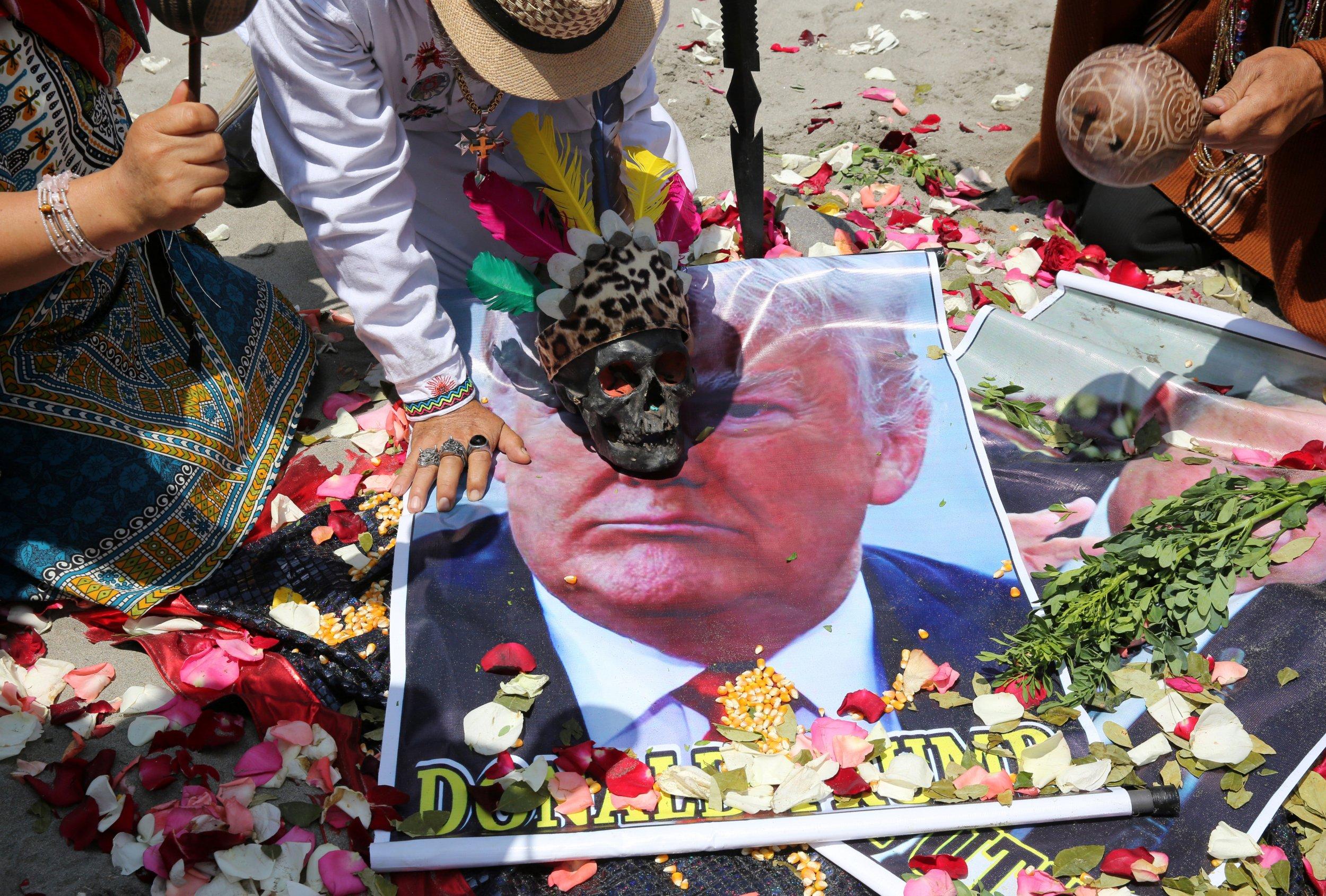 North Korea and US War the Subject of Peruvian Shamans