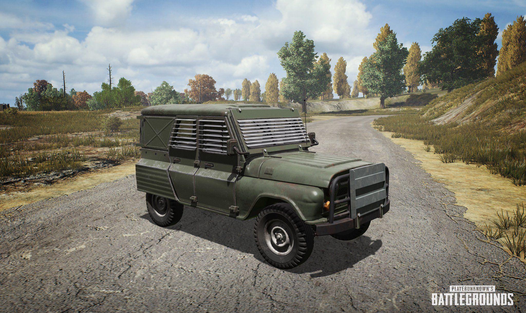 PUBG Metal Rain Event Adds Special Vehicle Dates Flare Gun Spawns Amp More