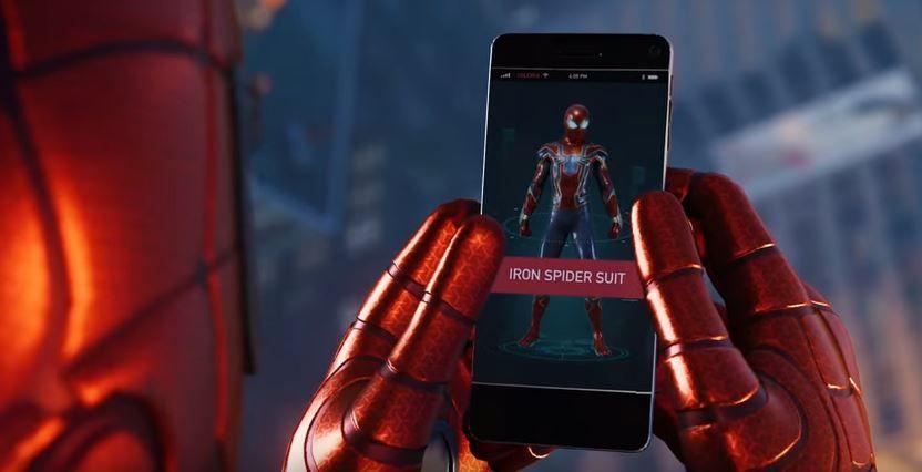 Marvels Spider Man Pre Order Bonus Includes Iron Spider Suit