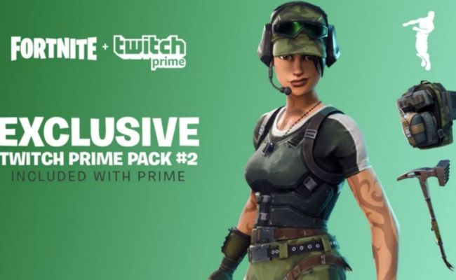 Fortnite Twitch Prime Pack 2 Live Skins How To Get Them