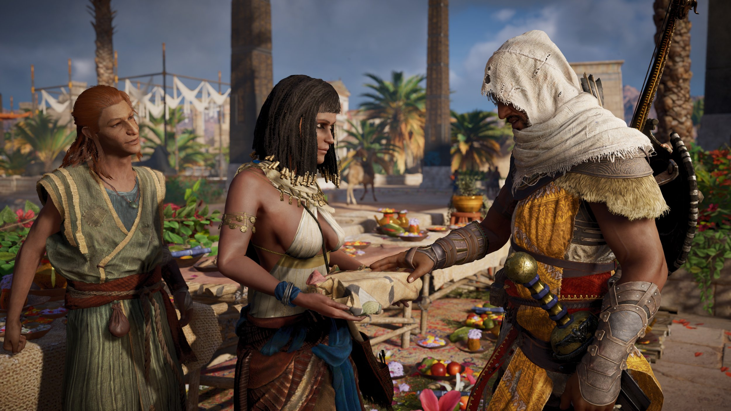 Assassins Creed Origins 143 Update Live On PS4 Xbox Patch Notes