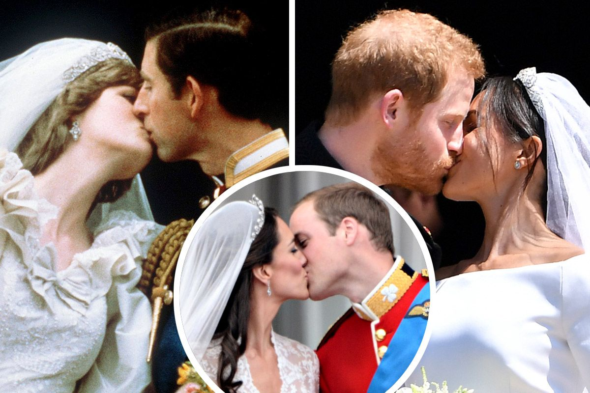 In Pictures Royal Brides Meghan Markle Kate Middleton Princess Diana and the Queen