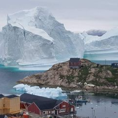 The Chair Outlet Black Leather And A Half Greenland Village Evacuated As Giant Iceberg Approaches, May Create Tsunami