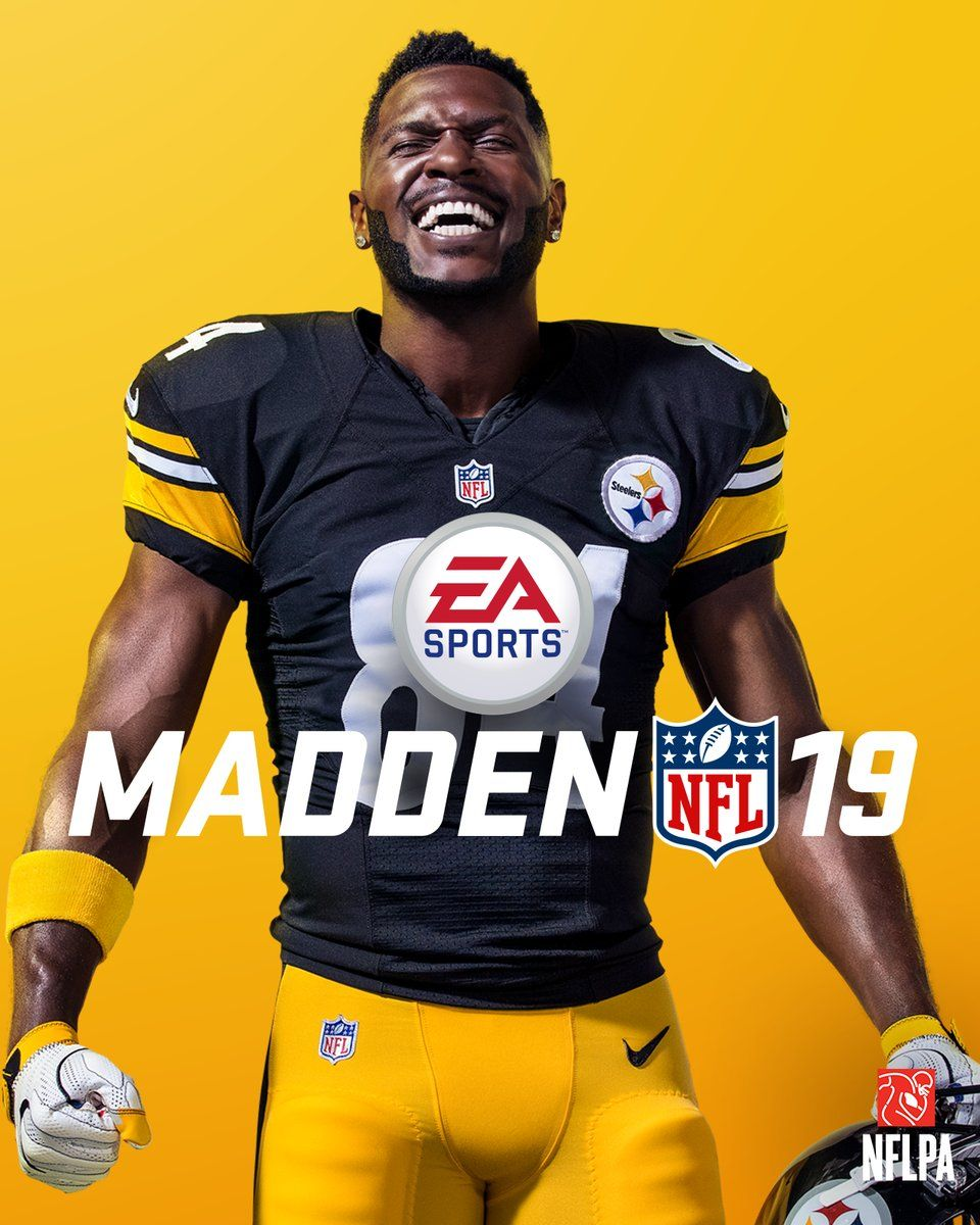 Madden NFL 19 Cover Athlete is Antonio Brown