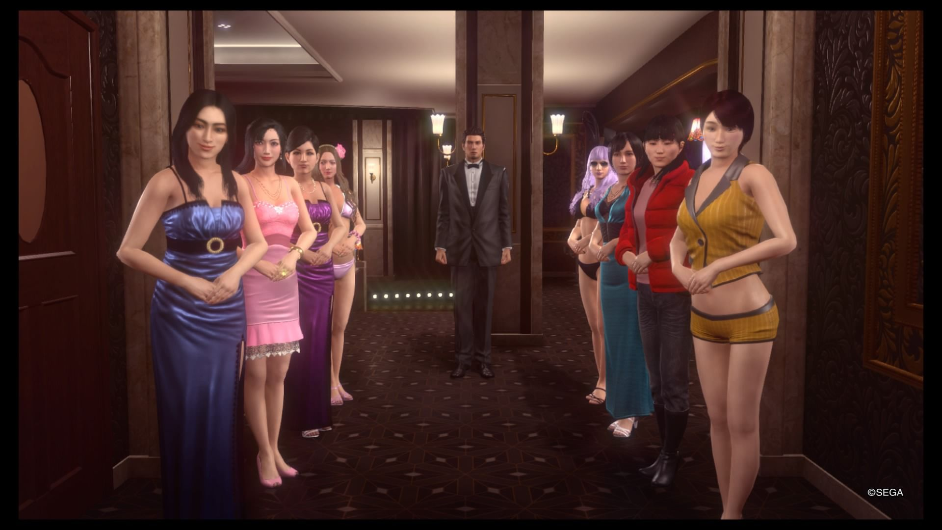 Yakuza Kiwami 2 Cabaret Club Grand Prix Guide Platinum Hostesses Hand Symbols and More