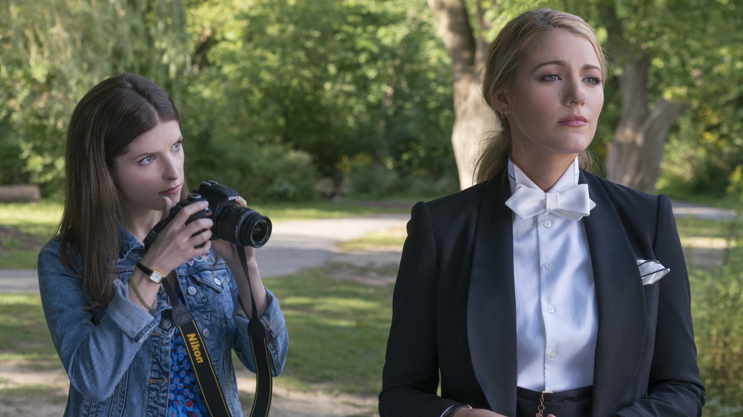 Paul Feig And Blake Lively On 'A Simple Favor ' Female