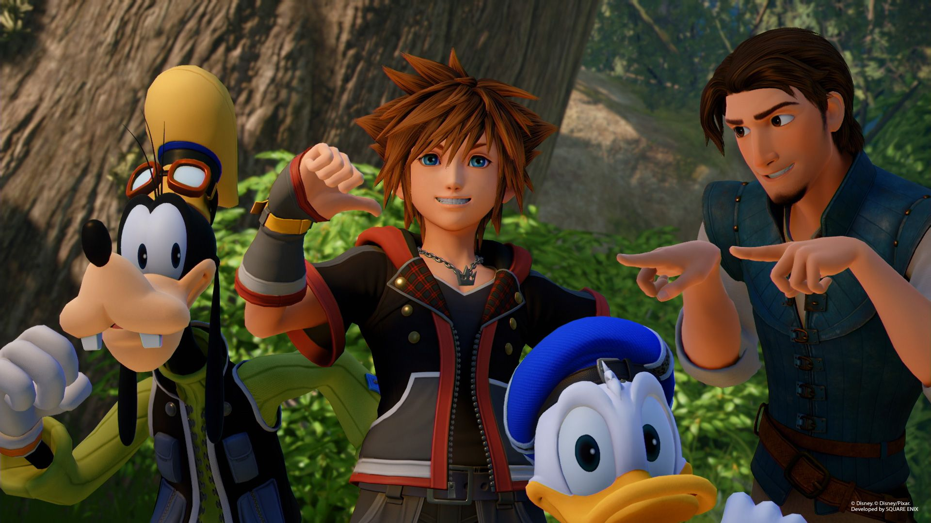 Cute Sakura Wallpaper Kingdom Hearts 3 Goes Gold With Extended Trailer As