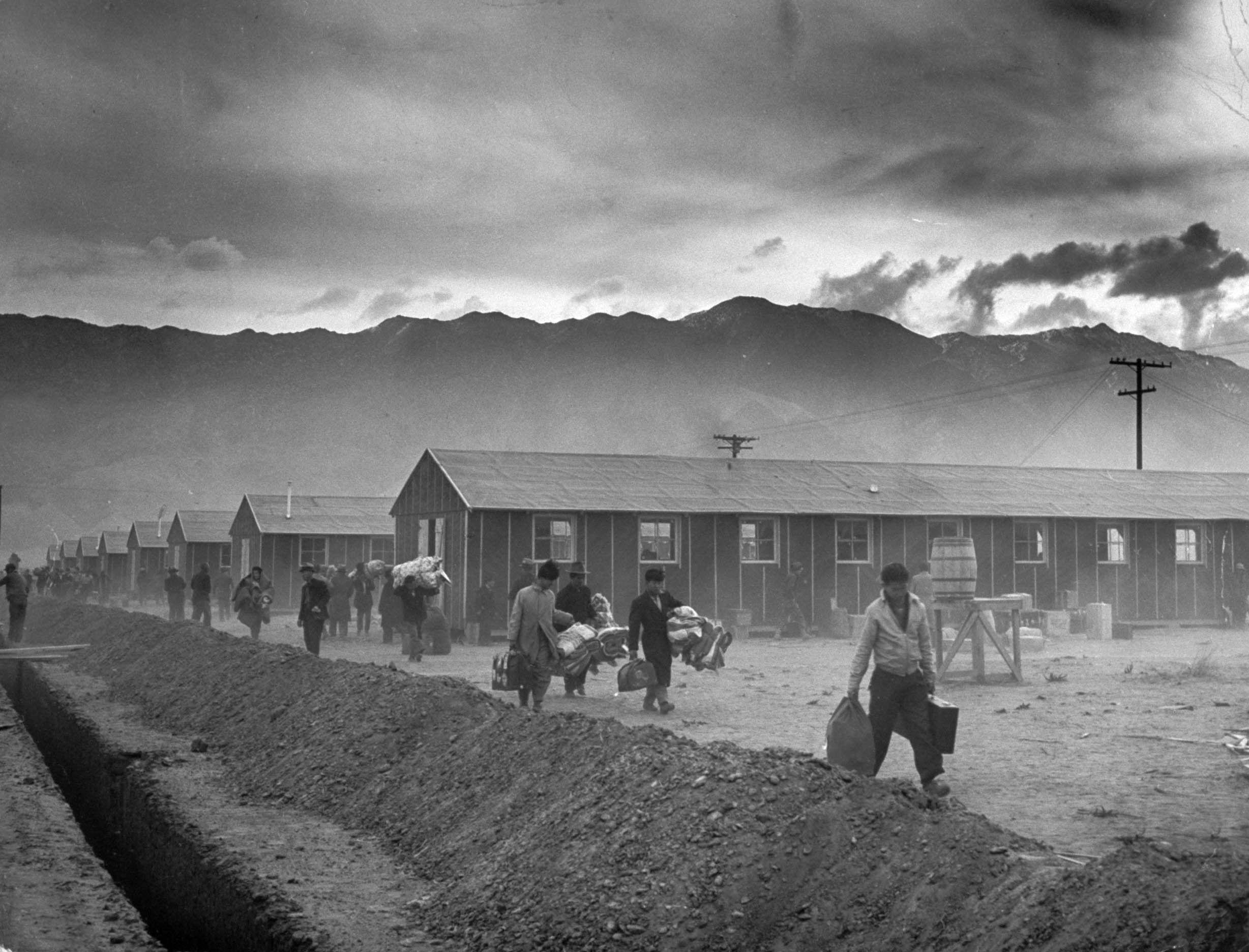A paper on the japanese internment during wwii