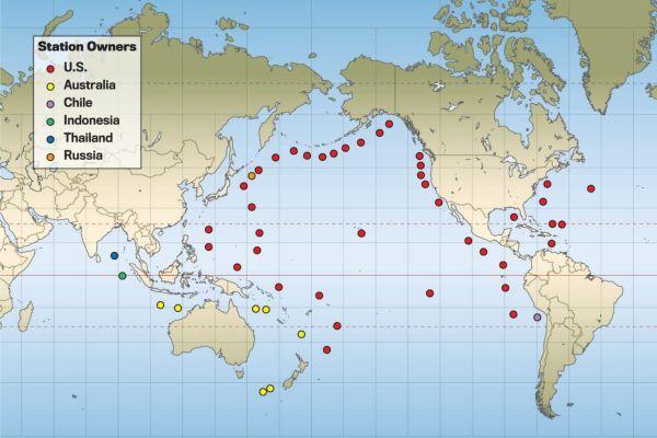 Measuring Tsunamis