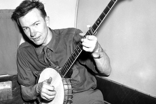 Image result for pete seeger 1940s