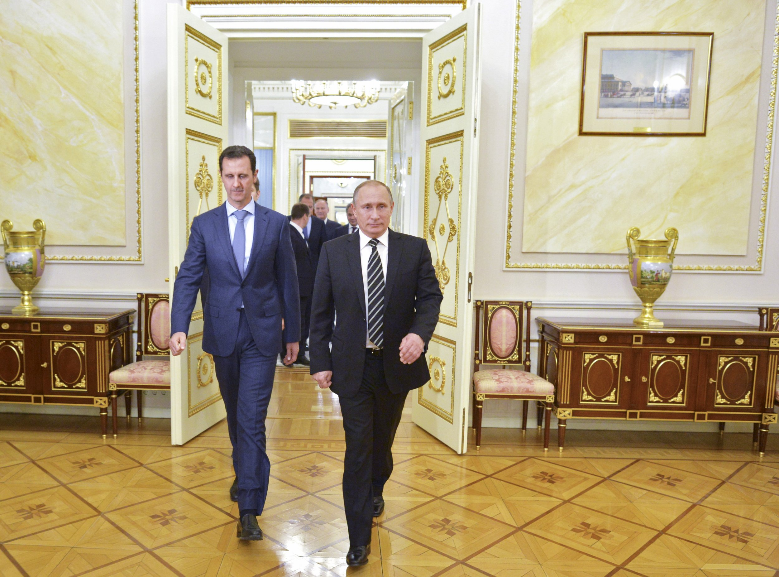 Image result for assad and putin pictures