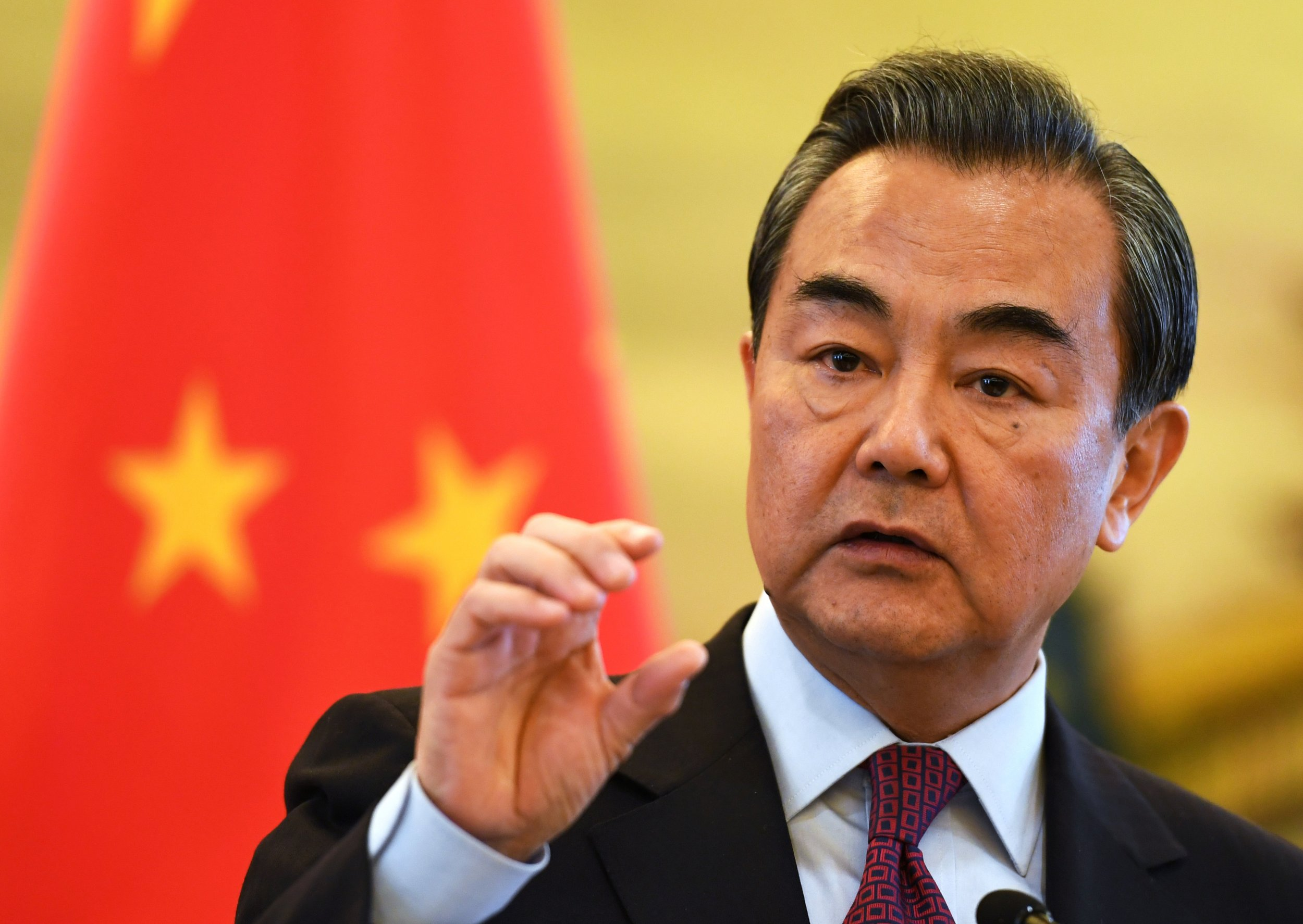 Image result for wang yi, photos