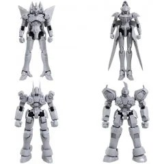 Xenogears Structure Arts 1/144 Scale Plastic Model Kit Series Vol. 1 (Set of 4 Types) Square Enix