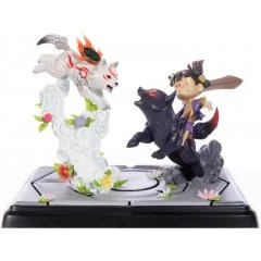 Okamiden - Chibiterasu contre Dark Chibiterasu et la statue peinte de Kuni possédé [Standard Edition] First4Figures