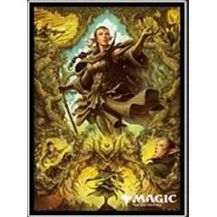 MAGIC: The Gathering Players Card Sleeve: Zendikar Rising Nissa of Shadowed Boughs (MTGS-147) Ensky