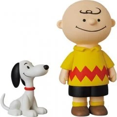 Ultra Detail Figure No. 618 Peanuts Series 12: 50's Charlie Brown and Snoopy Medicom