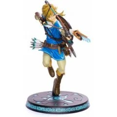 The Legend of Zelda: Breath of the Wild - Link PVC Painted Statue [Standard Edition] (Re-run) First4Figures