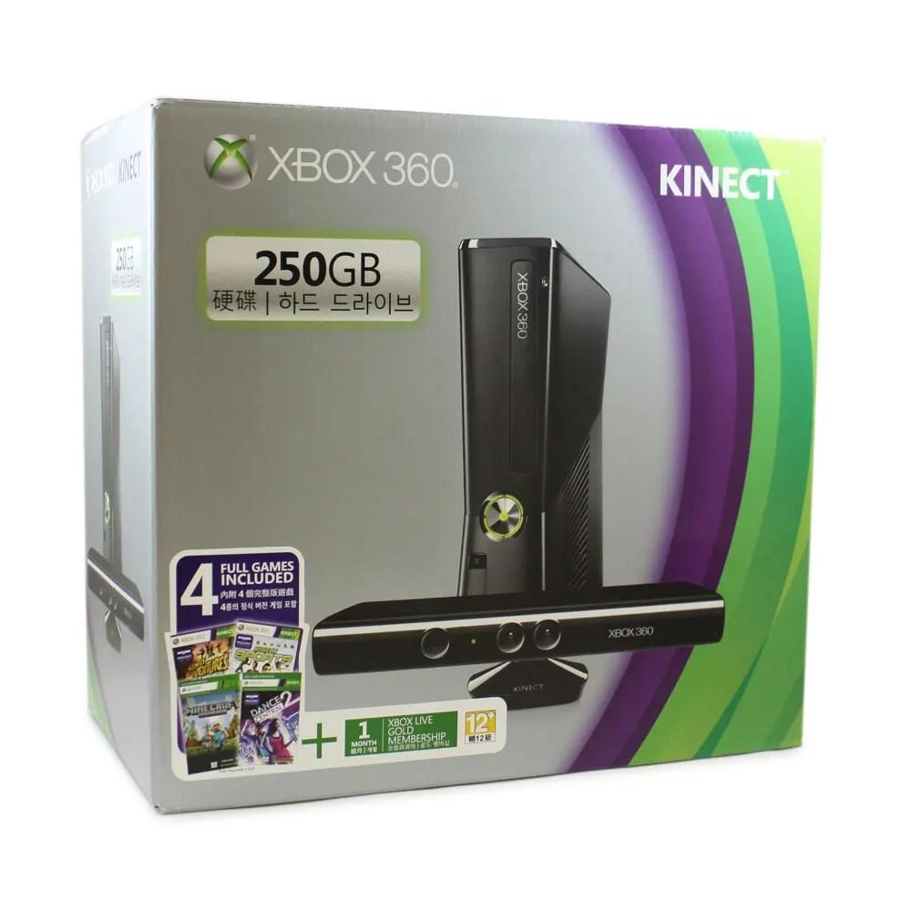 Xbox 360 250GB Kinect Bundle