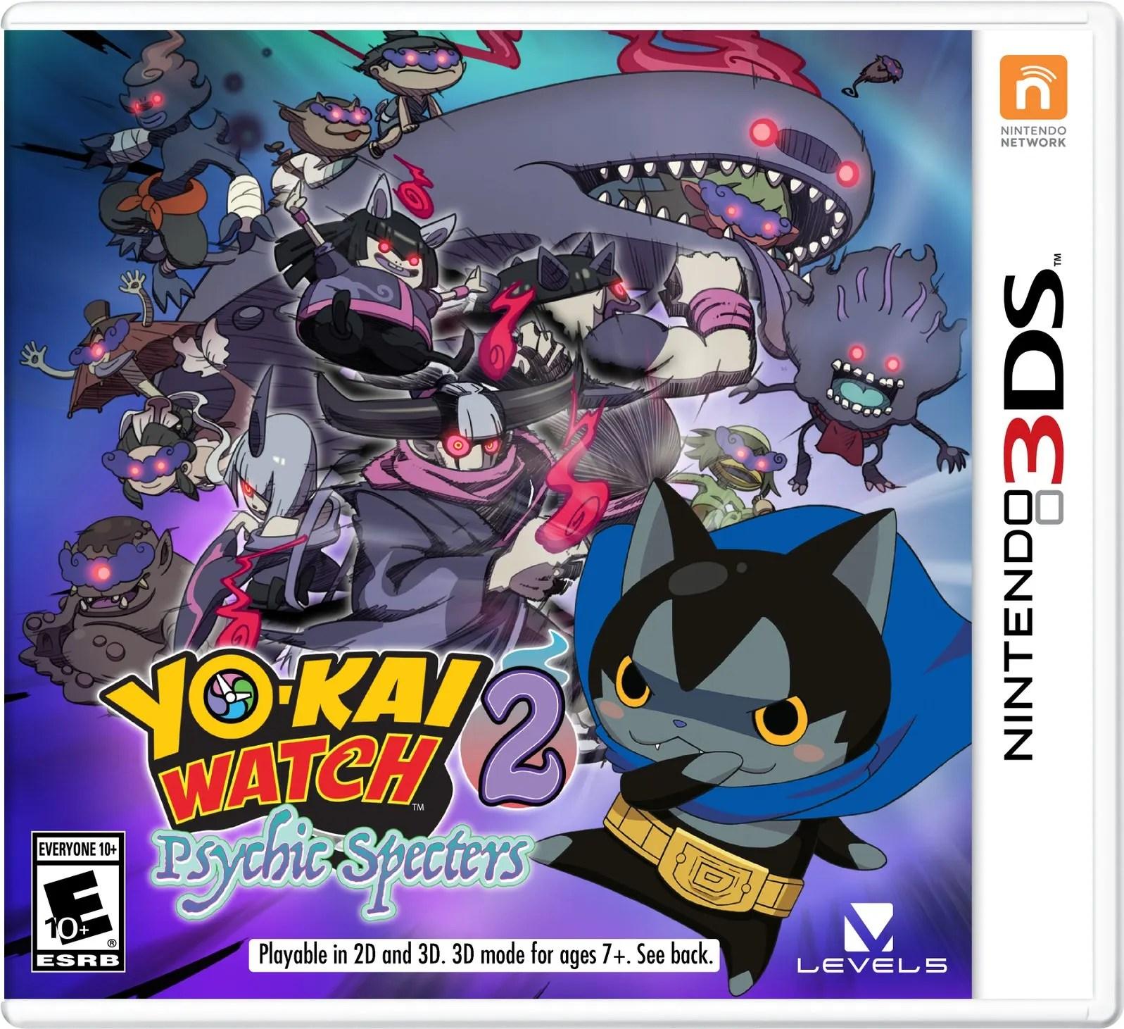 Yo Kai Watch 2 Psychic Specters