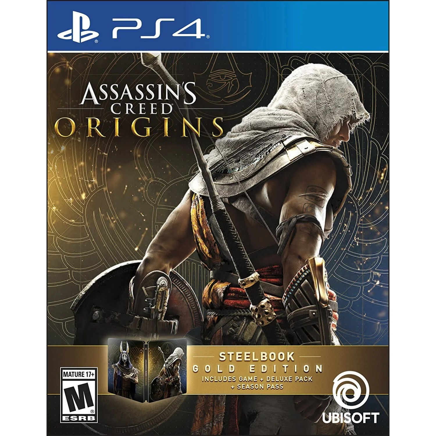 Assassin S Creed Origins Steel Book Gold Edition