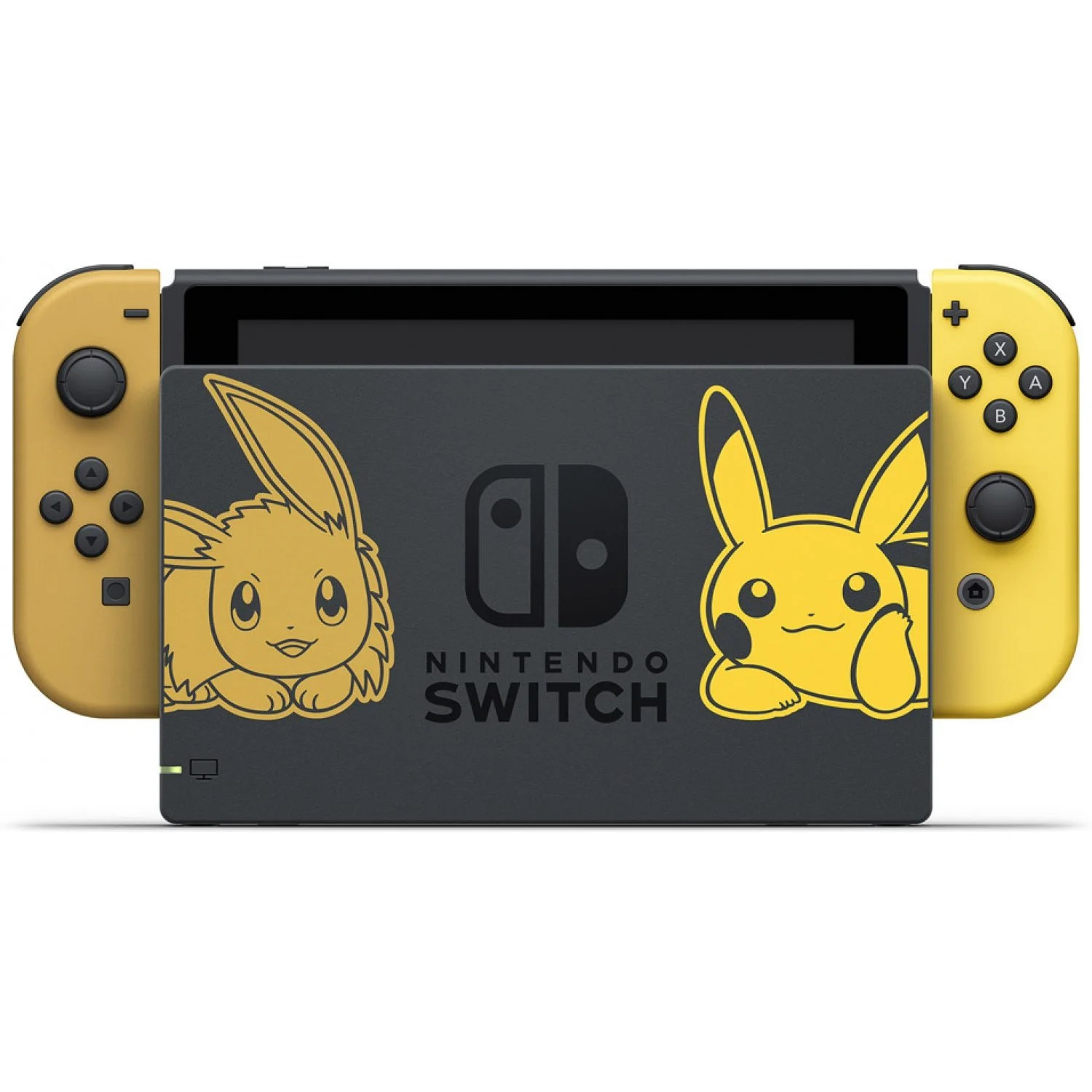 Nintendo Switch Pikachu Amp Eevee Edition With Pokmon Let