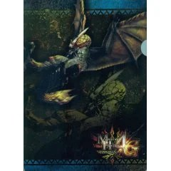 MONSTER HUNTER 4G A4 CLEAR FILE (SEREGIOS) Capcom
