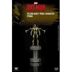 KING ARTS FORMAT FIGURE SERIES: ANT MAN YELLOW JACKET POSED CHARACTER King-Arts