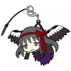PUELLA MAGI MADOKA MAGICA THE MOVIE PART 3 REBELLION TSUMAMARE STRAP: DEVIL HOMURA (RE-RUN) Cospa