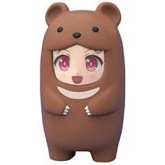 NENDOROID MORE: FACE PARTS CASE (BROWN BEAR) (RE-RUN) Good Smile