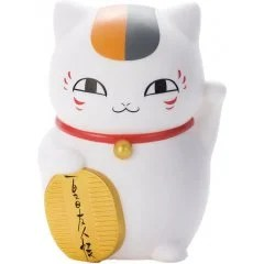 NATSUME YUJINCHOU MANEKI SOFT VINYL PIGGY BANK: NYANKO-SENSEI (RE-RUN) TakaraTomy