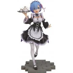RE:ZERO STARTING LIFE IN ANOTHER WORLD 1/7 SCALE PRE-PAINTED FIGURE: REM [GSC EXCLUSIVE VER.] (RE-RUN) Good Smile