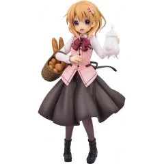 IS THE ORDER A RABBIT?? 1/7 SCALE PRE-PAINTED FIGURE: COCOA (CAFE STYLE) (RE-RUN) Plum