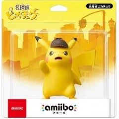 AMIIBO POKEMON SERIES FIGURE (DETECTIVE PIKACHU) LIMITED EDITION
