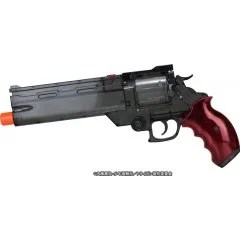 THE MOVIE OF TRIGUN BADLANDS RUMBLE 1/1 SCALE: VASH'S WATER GUN CLEAR BLACK VER. Fullcock