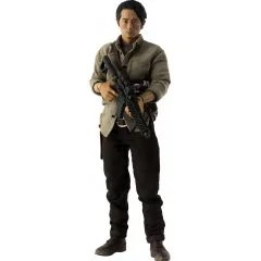 THE WALKING DEAD 1/6 SCALE PRE-PAINTED ACTION FIGURE: GLENN RHEE DX VER. Threezero