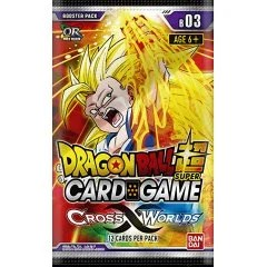 DRAGON BALL SUPER CARD GAME BOOSTER PACK: CROSS WORLDS Tamashii (Bandai Toys)