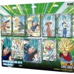 DRAGON BALL SUPER CARD GAME EXPANSION DECK BOX SET 01: MIGHTY HEROES Tamashii (Bandai Toys)