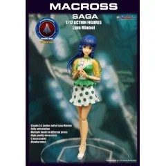 KITZCONCEPT ROBOTECH 1/12 SCALE ACTION FIGURE: LYNN MINMAY KitzConcept