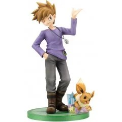 ARTFX J POKEMON SERIES 1/8 SCALE PRE-PAINTED FIGURE: GREEN WITH EEVEE Kotobukiya