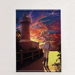 SUMMER POCKETS B2 WALL SCROLL: TSUMUGI WENDERS (RE-RUN) Curtain Damashii