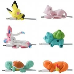 POKEMON SUYASUYA ON THE CABLE VOL. 2 (SET OF 8 PIECES) Gray Parka Service