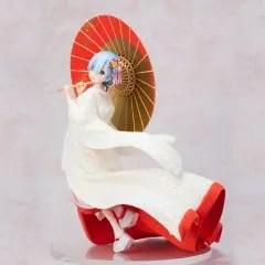 RE:ZERO KARA HAJIMERU ISEKAI SEIKATSU 1/7 SCALE PRE-PAINTED FIGURE: REM SHIROMUKU VER. FuRyu